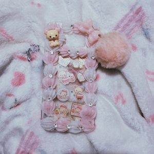 Kawaii Korilakkuma Whipped Decoden Phone Case